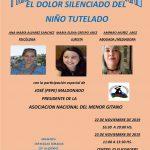 Primer Congreso Nacional sobre el «Menor Tutelado»en Palma de Mallorca, Viernes y Sábado, 22 y 23 de noviembre 2019.